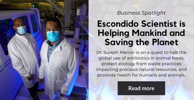 Escondido Scientist is Helping Mankind and Saving the Planet